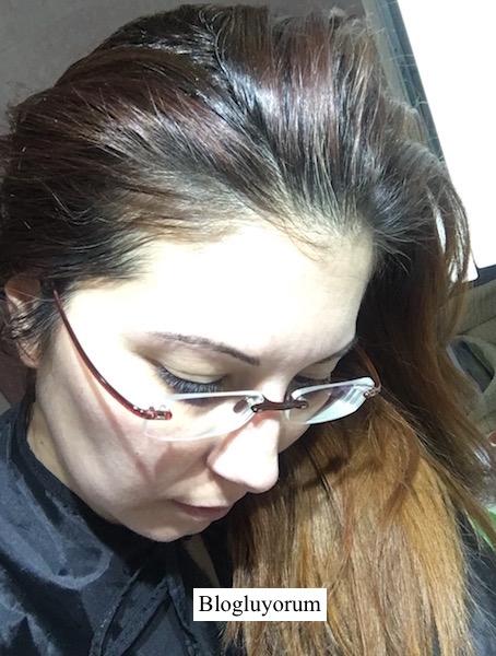 garnier 6.46 yoğun bakır kahve saç boyası boyadan önce