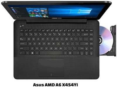 harga laptop asus amd a6 x454yi