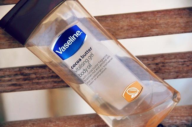 Vaseline Cocoa butter Vitalizing gel oil body
