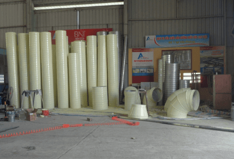Quy trình sản xuất ống gió TPP Hình 12