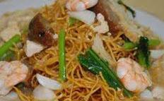Resep praktis (mudah) mie titi spesial (istimewa) khas Makassar enak, gurih, sedap, nikmat lezat