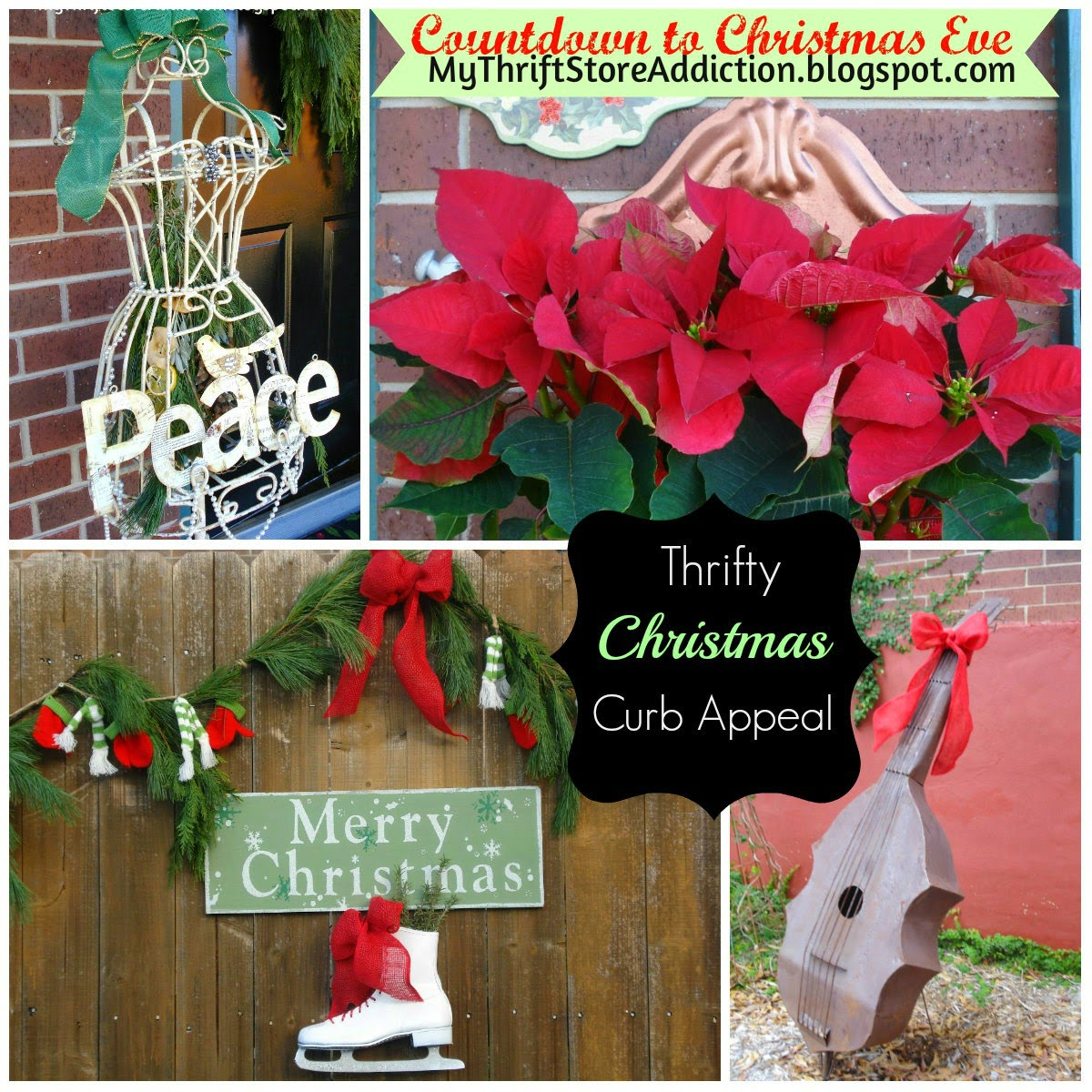 Thrifty festive curb appeal