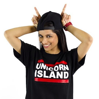 photos Lilly Singh pics IISuperwomanII Unicorn Island shirt