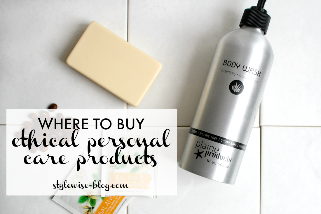 where to buy ethical personal care products