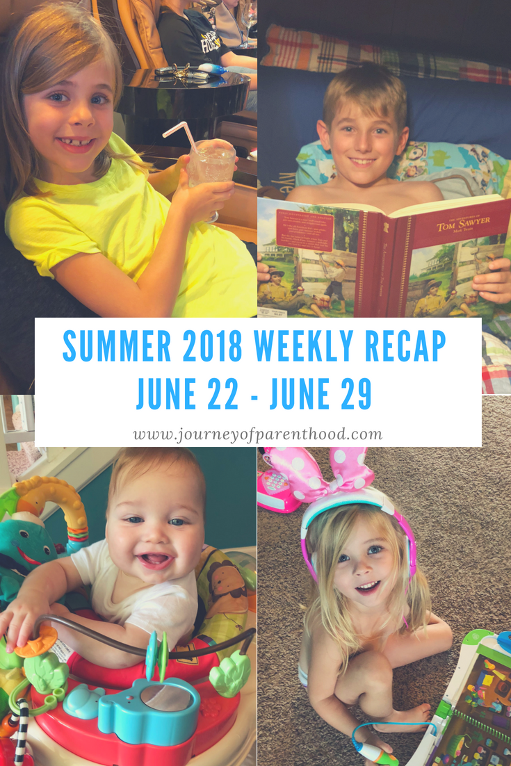 Summer Recap 2018: Week 4