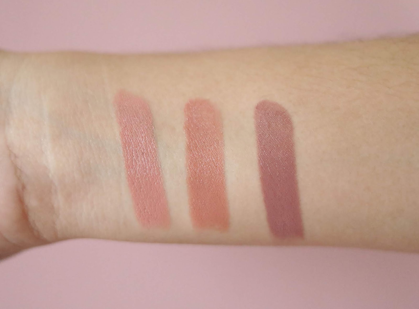 It Just Comes Naturally,Too Faced, Natural Face,Natural Nudes Lipsticks,Overexposed ,BirthdaynSuit ,Strip Search , May 2018 , revue, avis , rose mademoiselle , rosemademoiselle,