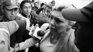 """Gabriela Zapata, exgerente comercial de la empresa china CAMC y expareja del presidente boliviano Evo Morales, nunca tuvo un hijo con el mandatario y le """"engañó"""" falsificando documentos."""