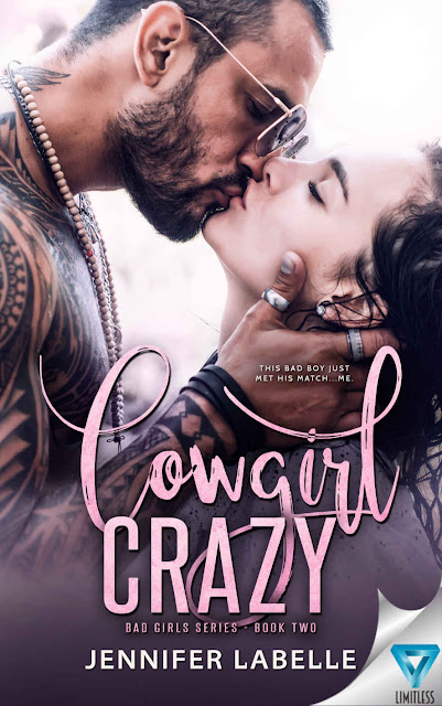 This bad boy just met his match | #AmReading Cowgirl Crazy @1JenniferLabell #Romance #KU