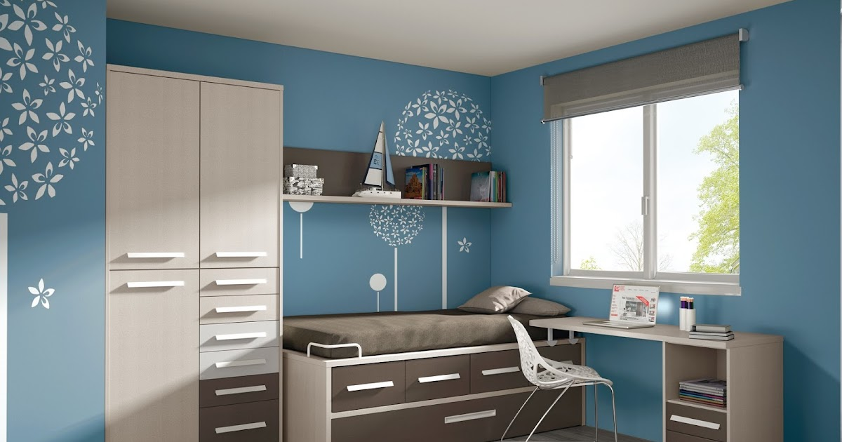 Dormitorio juvenil sin armario 885 for Dormitorios juveniles baratos sin armario