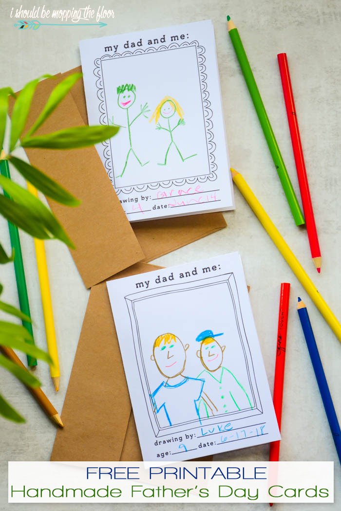 Free Printable Father's Day Greeting Cards