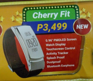 Cherry Mobile Cherry Fit, Activity Tracker That Doubles As Bluetooth Earphone for Php3,499
