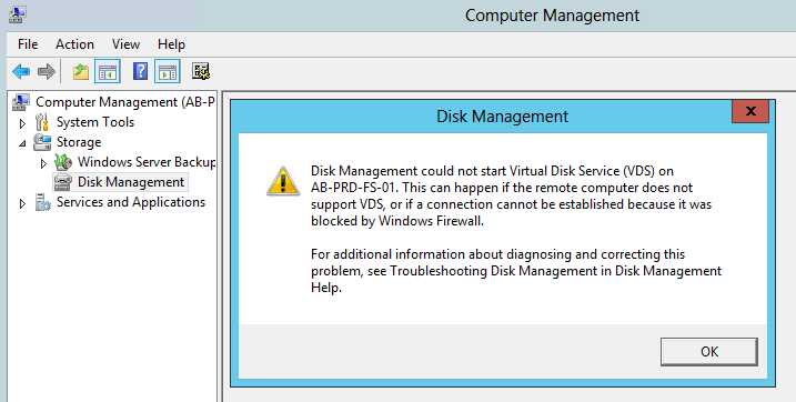 how to get into disk management