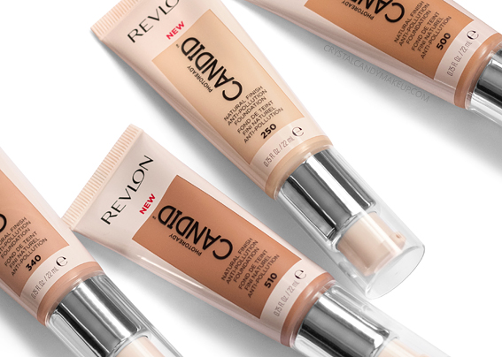Revlon PhotoReady Candid Natural Finish Anti Pollution Foundation Review Before After MAC NW15 NC30