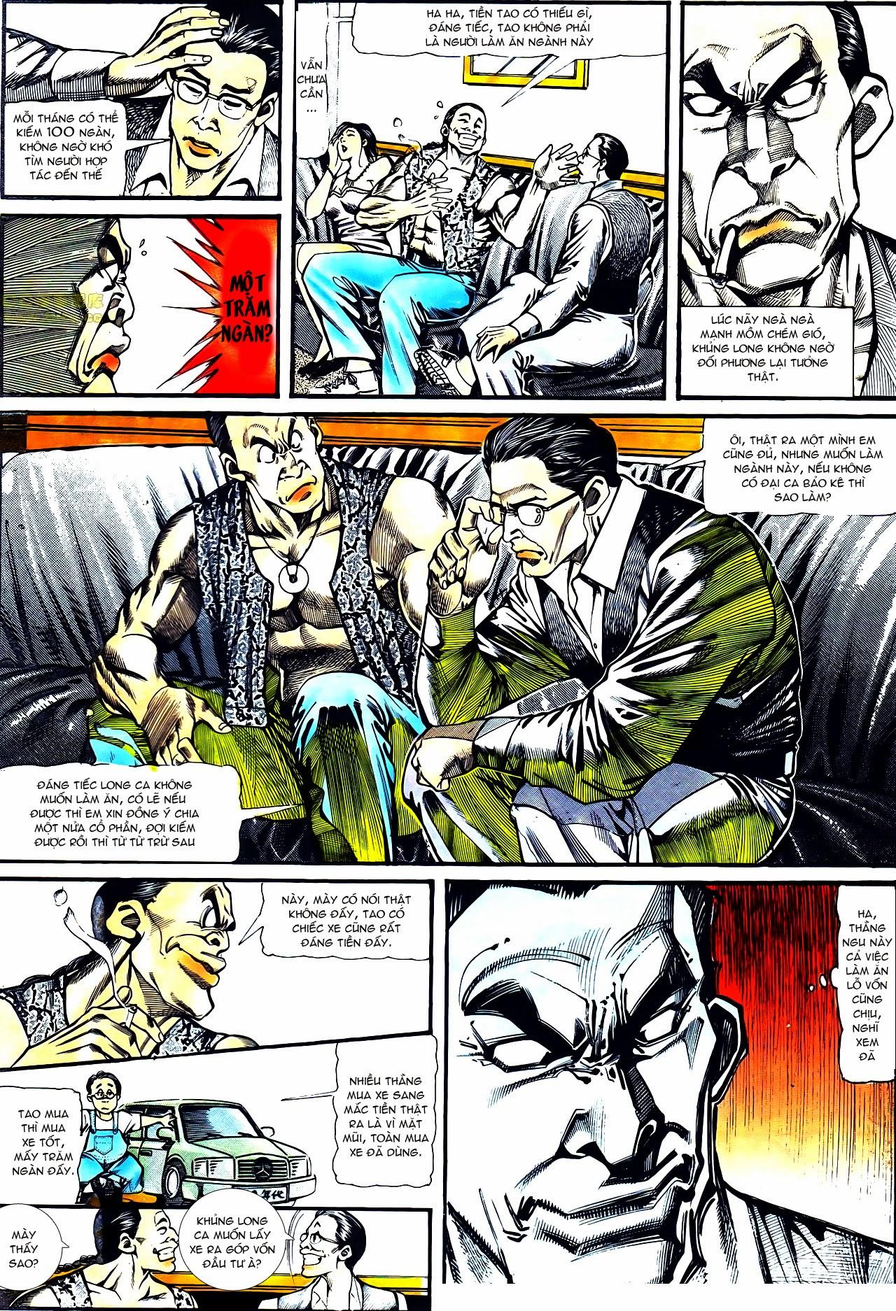 Người Trong Giang Hồ chapter 122: phố dục lạc trang 6