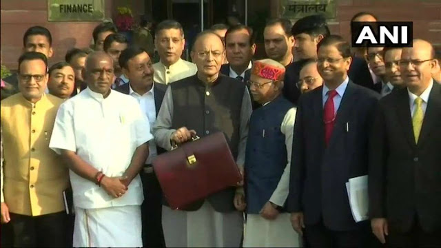 The country's budget today, see what comes out of the finance minister Arun Jaitley's pitcher