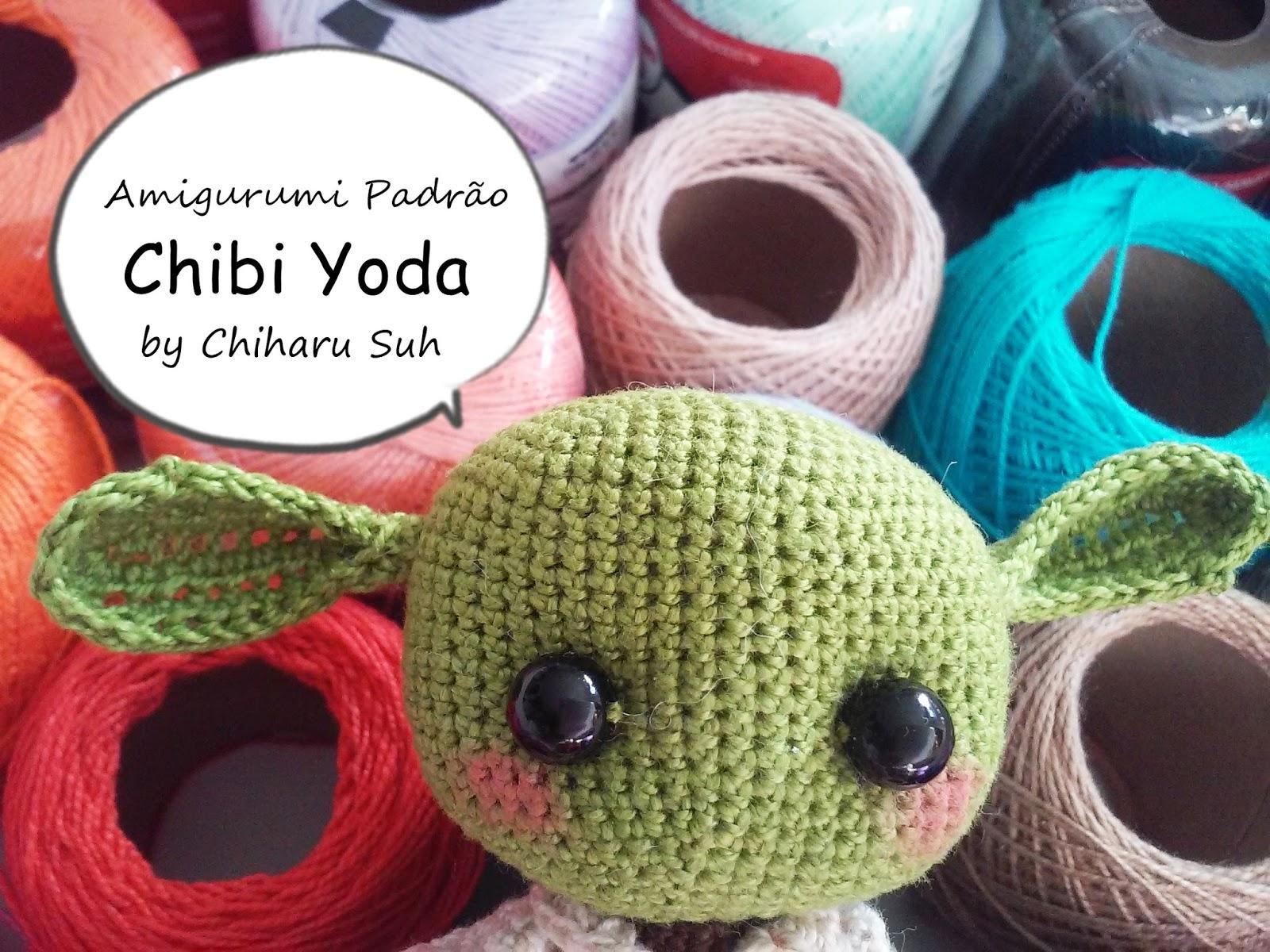 FREE AMIGURUMI PATTERN: Star Wars Yoda | Amigurumis patrones ... | 1200x1600