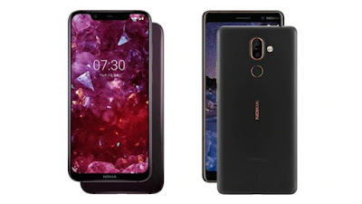 What is the difference between Nokia X7 and 7 Plus