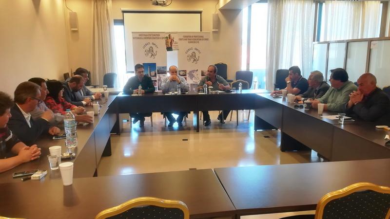 Σύσκεψη επαγγελματικών, βιοτεχνικών και εμπορικών σωματείων Έβρου με τον Πρόεδρο της ΓΣΕΒΕΕ Γ. Καββαθά