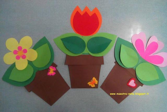 Ide membuat kerajinan kertas berbentuk bunga untuk anak-anak 6
