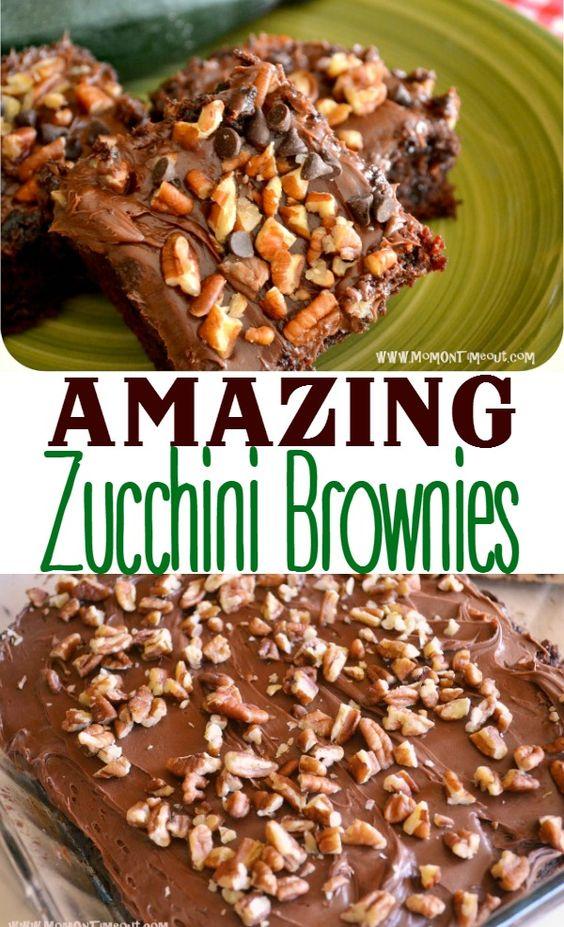 AMAZING ZUCCHINI BROWNIES