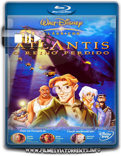 Atlantis: O Reino Perdido Torrent - BluRay Rip 720p Dublado