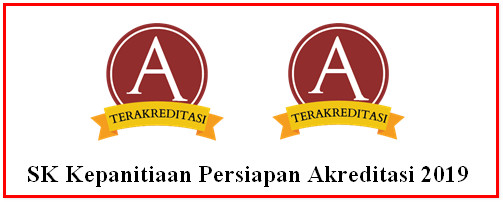 SK Kepanitiaan Persiapan Akreditasi 2019