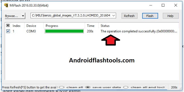How To Use Xiaomi Mi Flash Tool Success