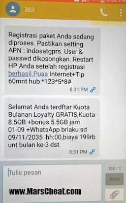 Cara Mendapatkan Quota Gratis Indosat 2016