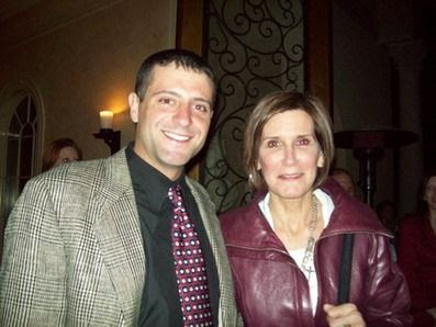 Peter Egan with Mary Matalin | http://peteregan.blogspot.com/