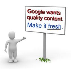 Google Fesh Content