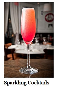 Click here for a list of Sparkling Cocktails