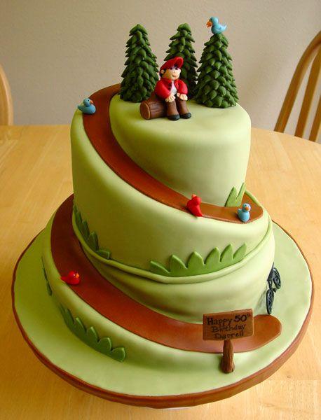 Hiking Cake Decorating Ideas
