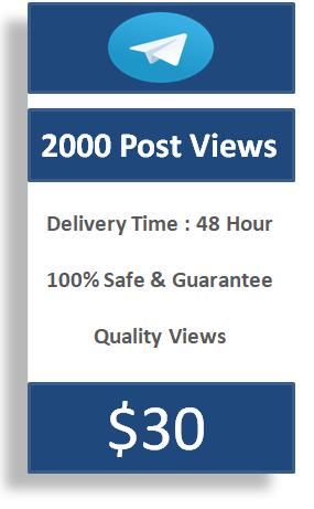 buy 2000 telegram post views