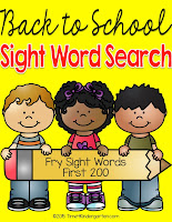Fry List Sight Word Search. Your students will love searching for the hidden sight words. This is a great way to reinforce sight word recognition and spelling. This packet includes 200 sight words on the Fry List with 22 separate word searches.