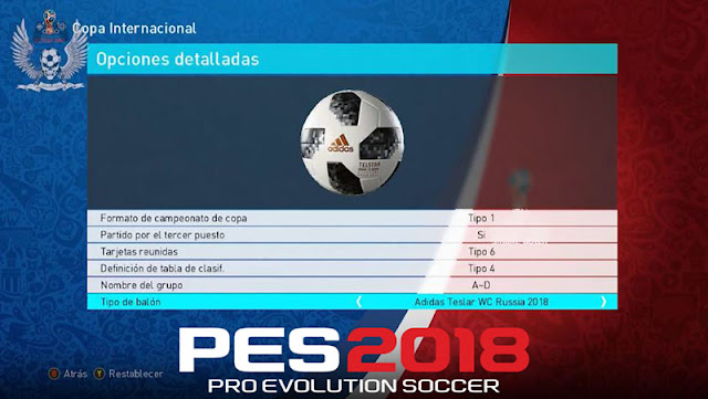 PEs 2018 Ball World Cup Russia 2018