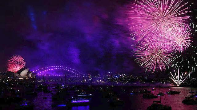 Στον Ειρηνικό και την Αυστραλία έκαναν πρωτοχρονιά (βίντεο)