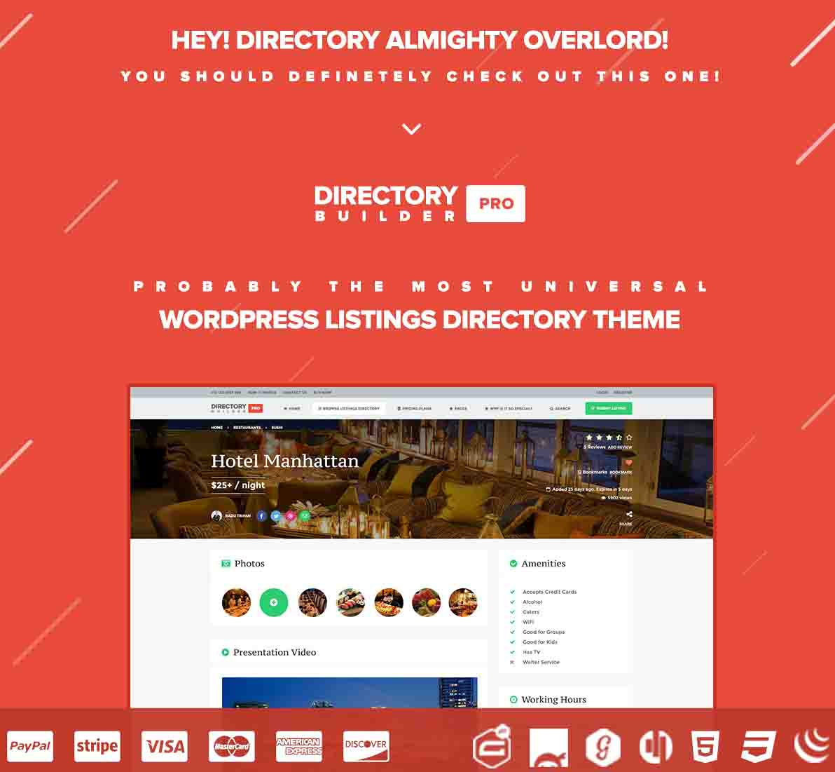 Flat Ads Free Premium Wordpress Theme - Wordpress 4 Free