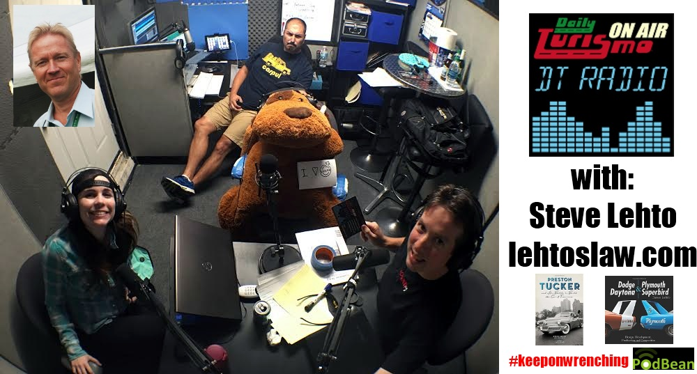 DT Radio Show: Steve Lehto Talks Tuckers, Daytonas, and the Law