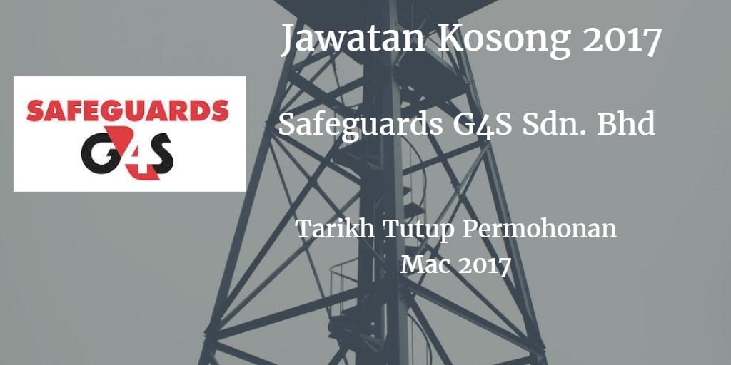 Jawatan Kosong Safeguards G4S Sdn. Bhd Mac 2017