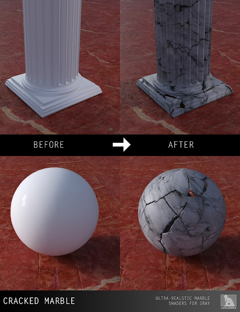 Marble Shaders for Iray