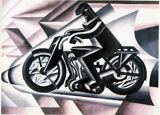 Il Motociclista (the Motorcyclist) is an example of Depero's art