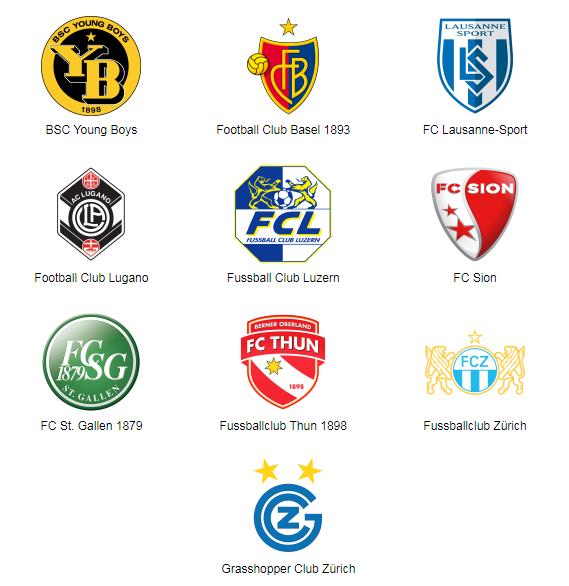 World Football Badges News Switzerland 2017 18 Swiss