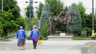 The cleanest city of the world is Ashgabat