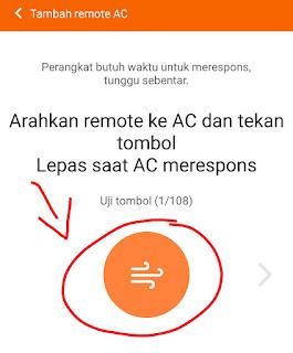 Cara setting Xiaomi redmi note 3 pro menjadiadi Remote AC
