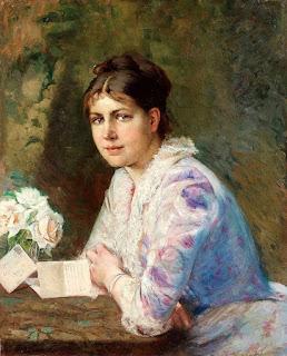 Elisabeth Keyser - Женщина с письмом