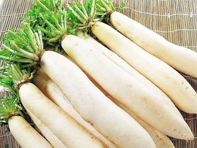 Manfaat Lobak Putih Untuk Kesehatan