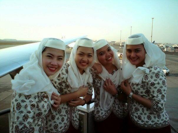 Inilah Pakaian Seragam Terbaru Pramugari Royal Brunei Air