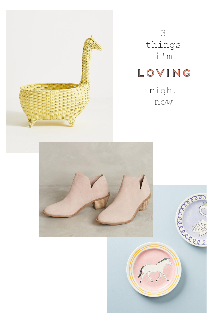 3 THINGS FROM ANTHROPOLOGIE THAT HAVE STOLEN MY HEART.