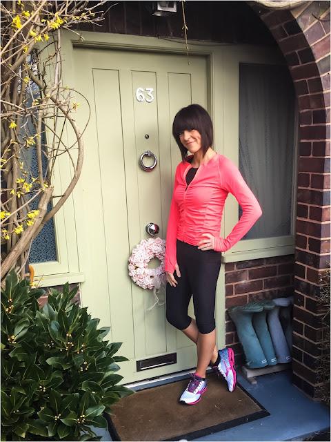 My Midlife Fashion, ILU Fitwear Chic seamless jacket, Mizuno Wave Riders 18, H and M Sportswear