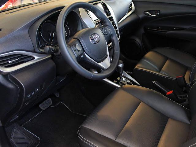 Toyota Yaris XLS 1.5 CVT 2019 - interior
